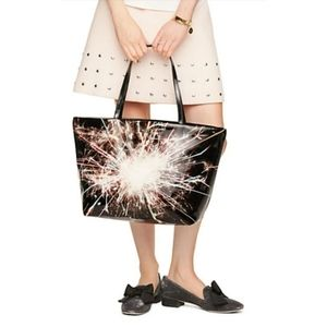 """Authentic Kate Spade """"Let Sparks Fly"""" Tote"""